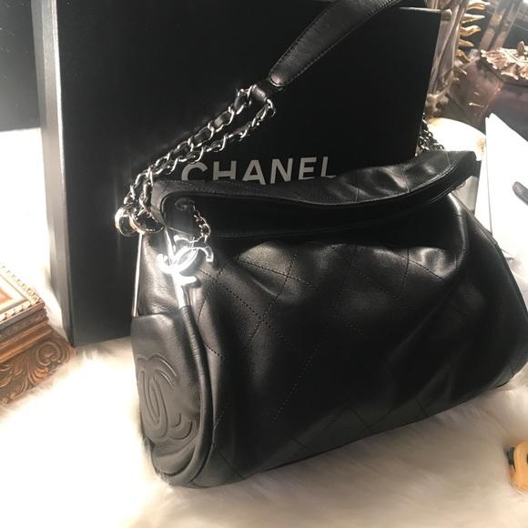 19460b0741c7f3 CHANEL Handbags - Chanel Small Ultimate Soft LigneQuilted Hobo Bag